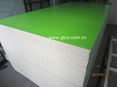 melamine faced particle board