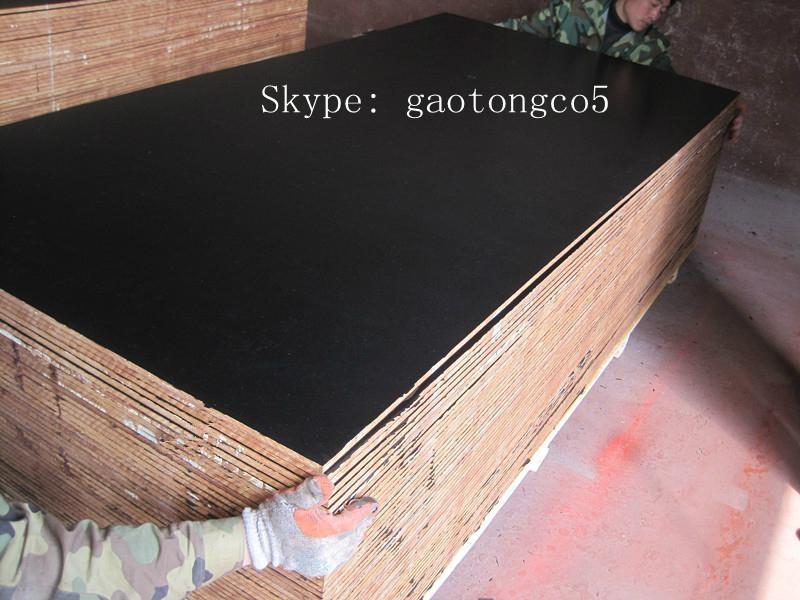 Black film faced marine plywood 3
