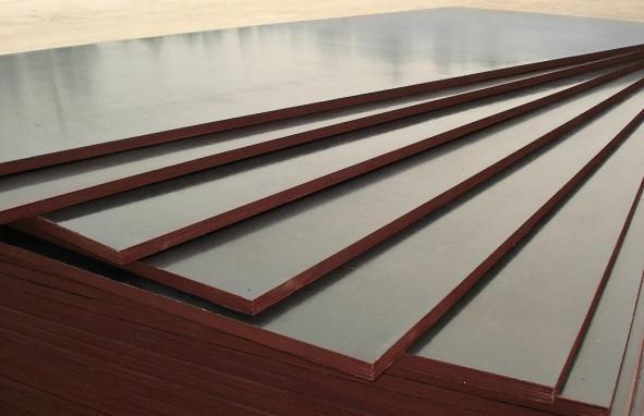 Anti slip Brown film faced shuttering plywood formwork 5