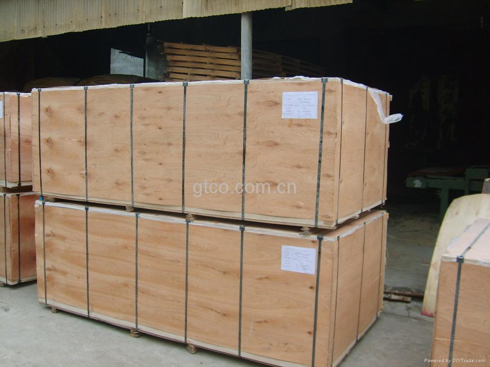 Anti slip Brown film faced shuttering plywood formwork 3
