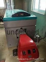 陝西渭南聚鑫鑄鐵模塊常壓燃氣熱水鍋爐