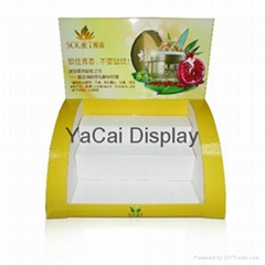 counter top display stand for skin care products