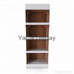 cardboard floor display standing,display racks