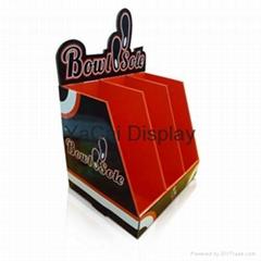 pop custom display stand, display shelf, cardboard pallet display unit