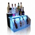 亚加力酒架,亚加力发光,发光亚加力,亚加力酒架厂家 3