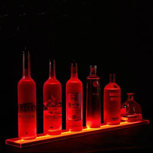 发光酒架厂家,发光酒架定制,LED酒架厂家,乐顺制品公司 1