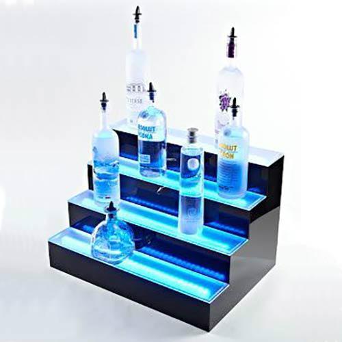 发光酒架厂家,发光酒架定制,LED酒架厂家,乐顺制品公司 2