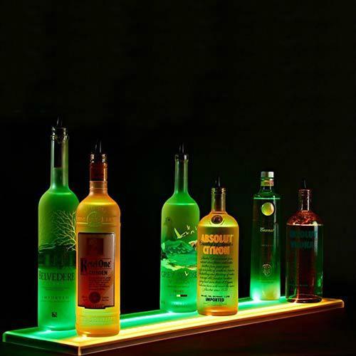 发光酒架厂家,发光酒架定制,LED酒架厂家,乐顺制品公司 3
