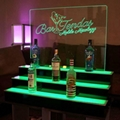illuminated bottle display