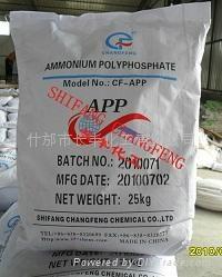 蜜胺包覆聚磷酸铵 1