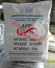 蜜胺包覆聚磷酸铵