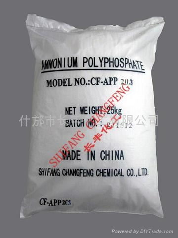 硅烷包覆聚磷酸铵 1