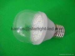 LED玉米燈泡取代舊的鎢絲燈泡