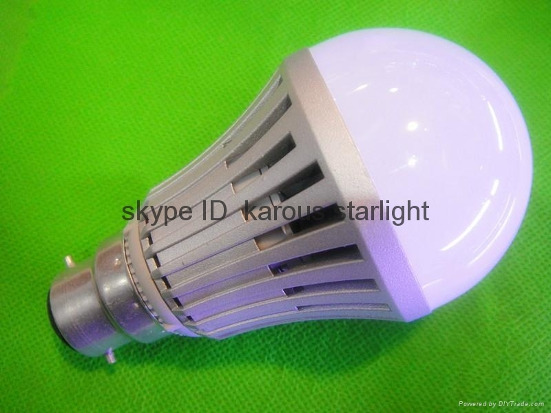 B22 bulb from 5w to 20w