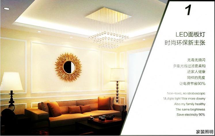 節能平板燈 4