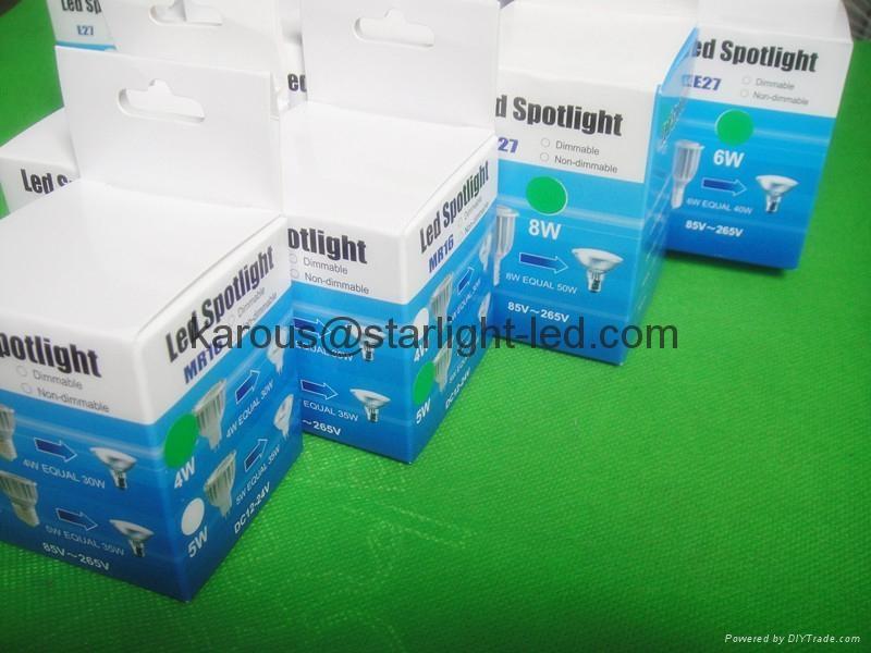 射灯10W E27 GU10 3