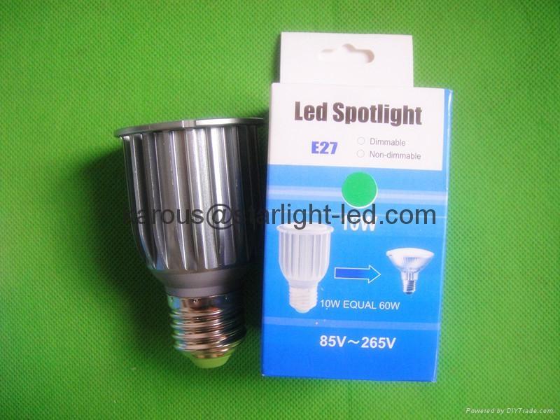 射灯10W E27 GU10 4
