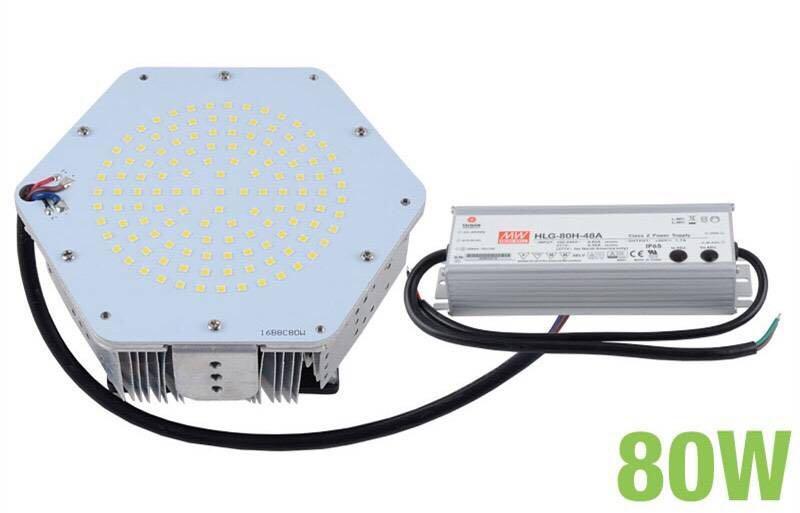 LED streetlamp retrofit kit 80W