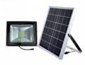 25 to 200w solar floodlight