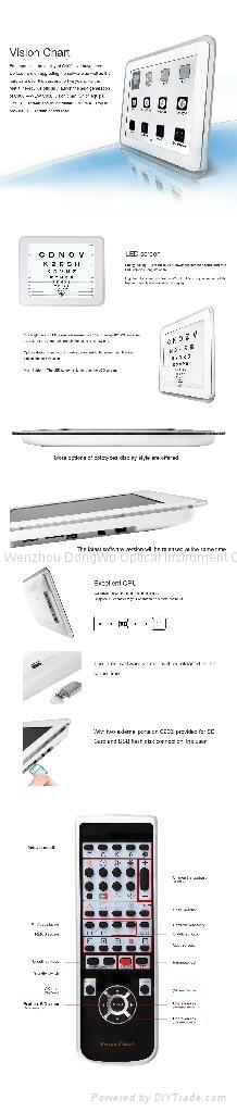 C900I LED Vision Chart 2
