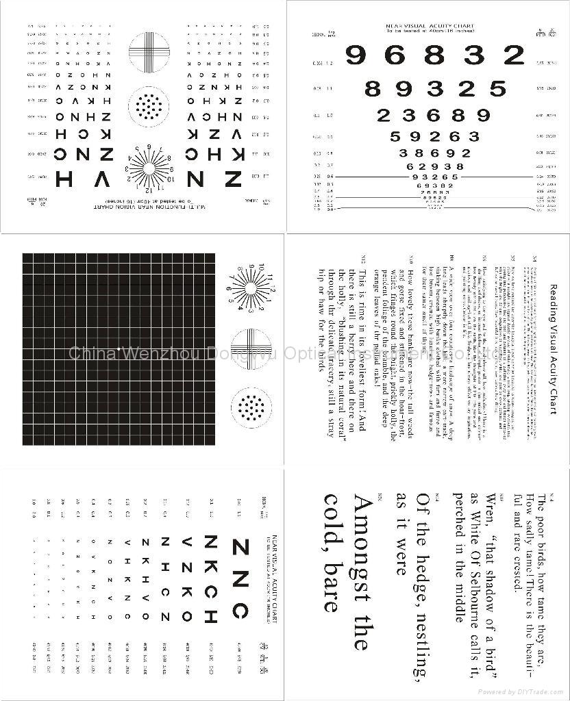 WH0901 LED Nera visual Acuity Chart 2