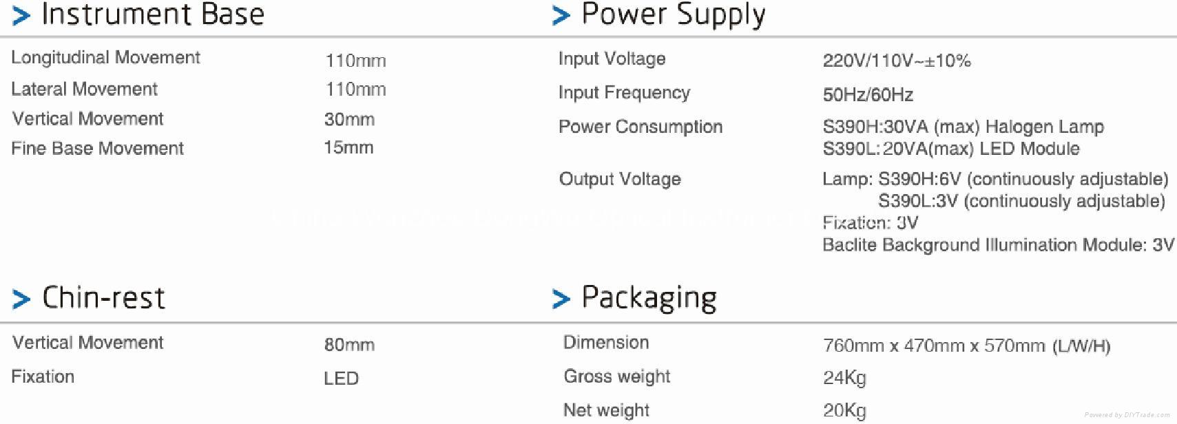 Electric-Focus Digital Slit Lamp 8