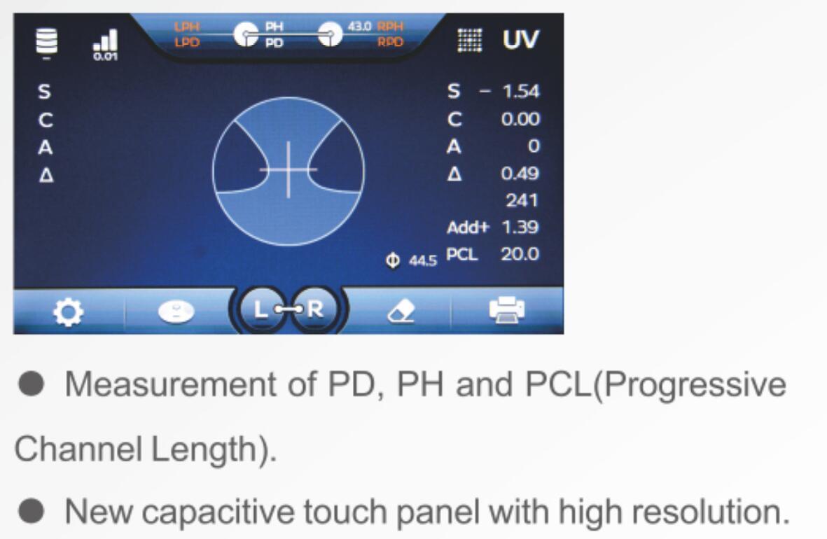 TW-8100 Auto Lensmeter 2