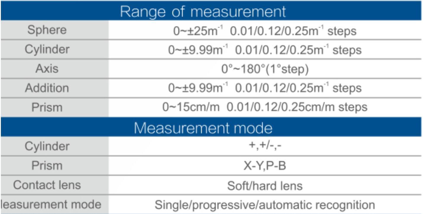 TW-8100 Auto Lensmeter 4