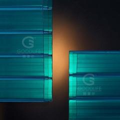16毫米多層陽光板