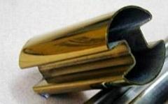 不锈钢双槽圆管