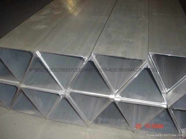 不鏽鋼三角管 1
