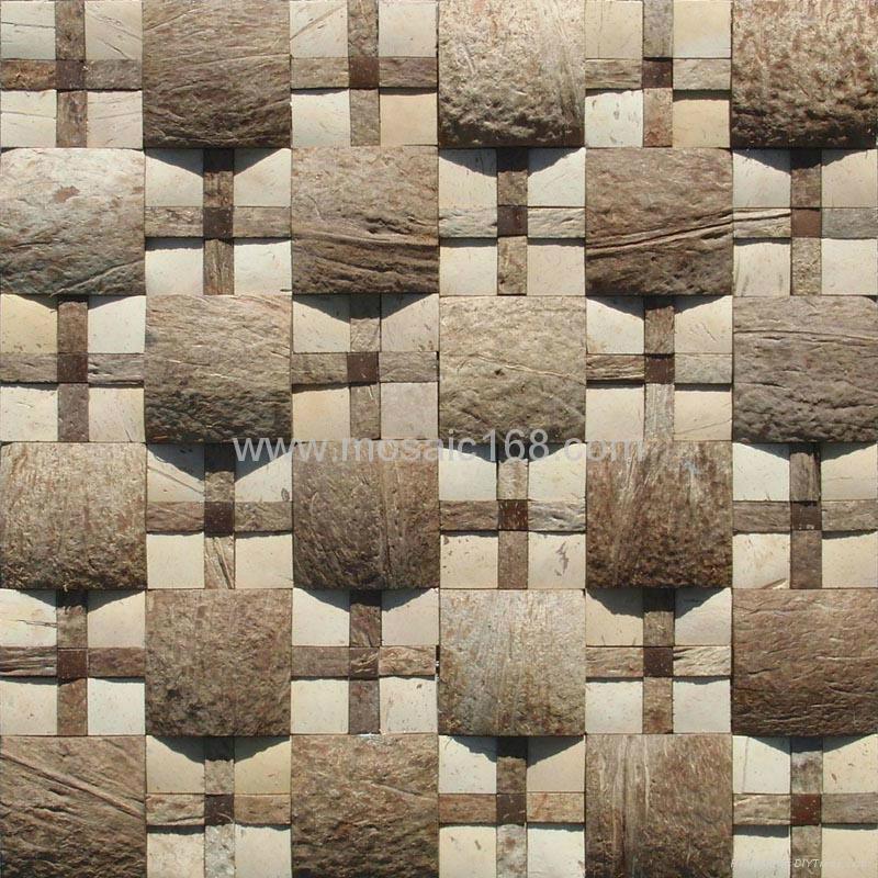 大小椰壳混拼马赛克 1