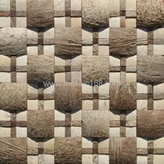 大小椰殼混拼馬賽克