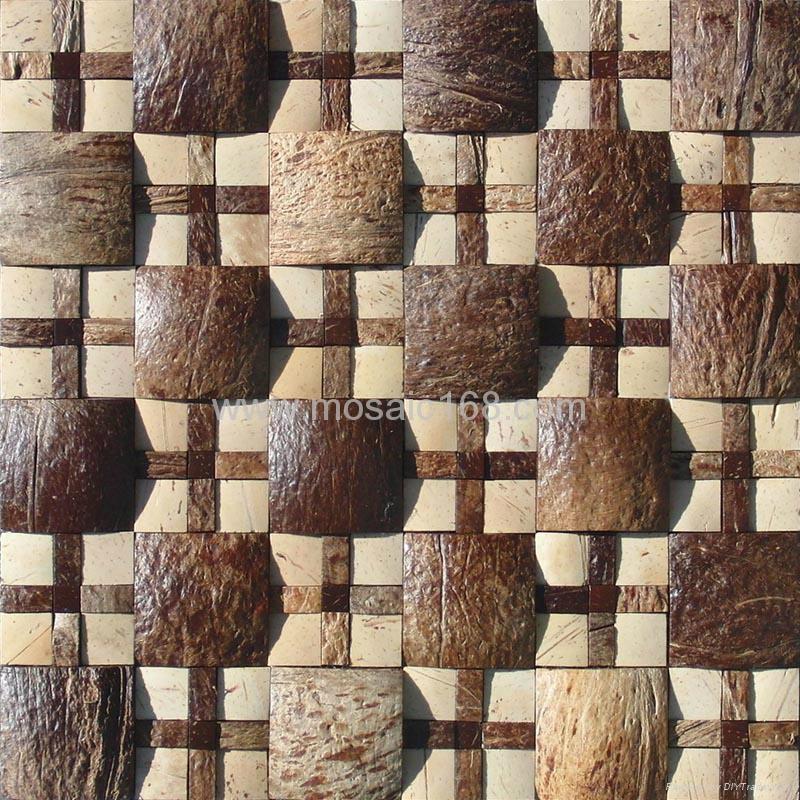 大小椰壳混拼马赛克 2