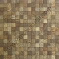 square Coconutshell mosaic panel