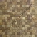 square Coconutshell mosaic panel