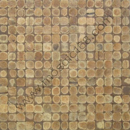磨面椰壳墙面马赛克 1