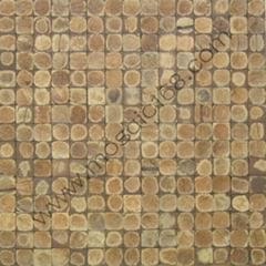磨面椰殼牆面馬賽克