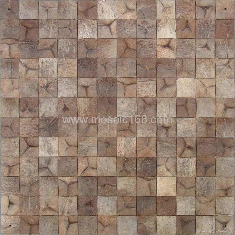 椰壳石材马赛克 3