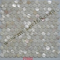 round shape Bathroom Shell mosaic