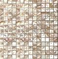 白色圆形贝壳马赛克 2