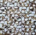 白色圆形贝壳马赛克 3