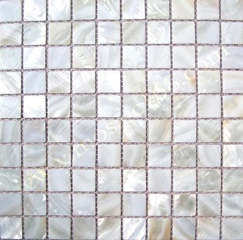 白色圆形贝壳马赛克 4