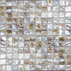 Shell mosaic wall tile interior wall mosaic paper