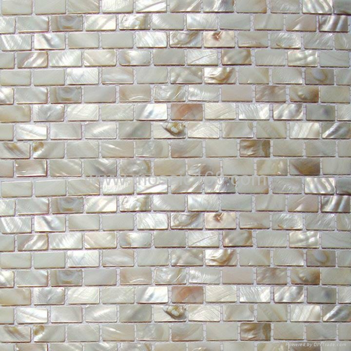 Shell Mosaic Wall Tile Interior Wall Mosaic Paper Jh P8 C Gimare China Manufacturer