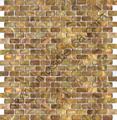 黄古铜色贝壳马赛克贝母饰面板 1