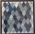fan shape glass mosaic ceramic tile 4