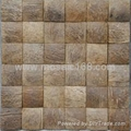 50*50mm Coconut husk mosaic tile