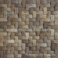 50*50mm Coconut husk mosaic tile