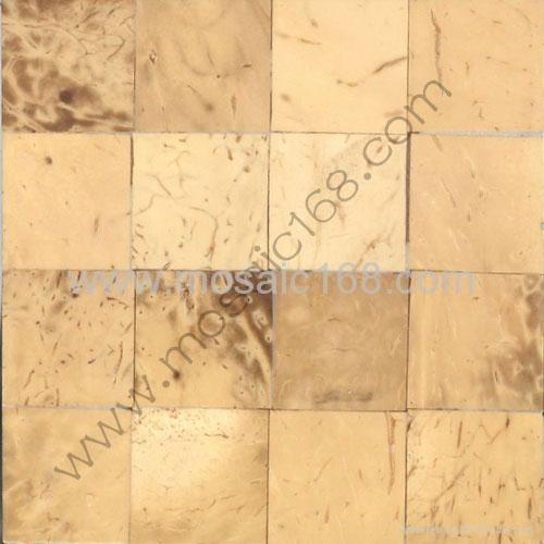 白椰壳平面马赛克装饰板 1